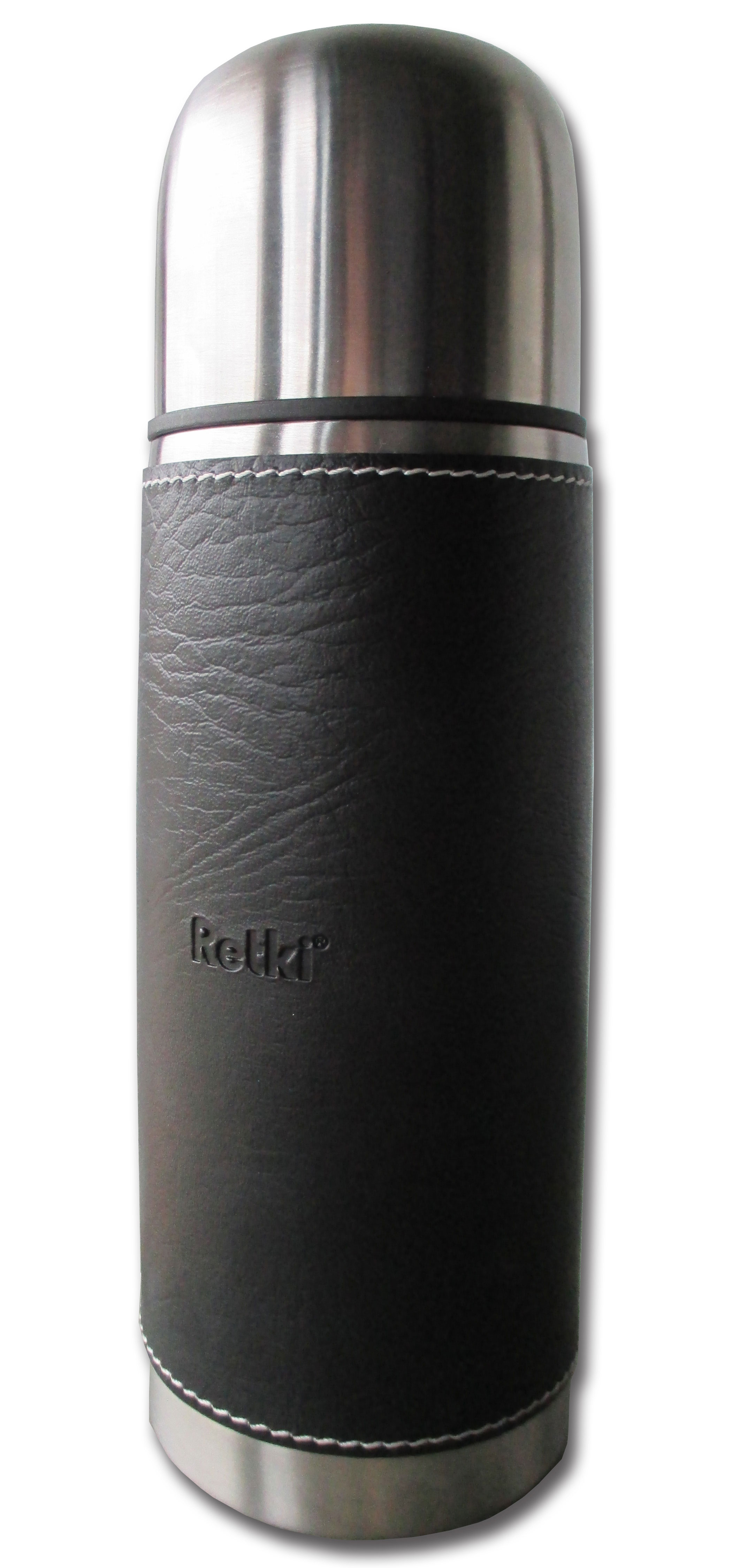 Retki 0,5L thermos bottle with leather cover