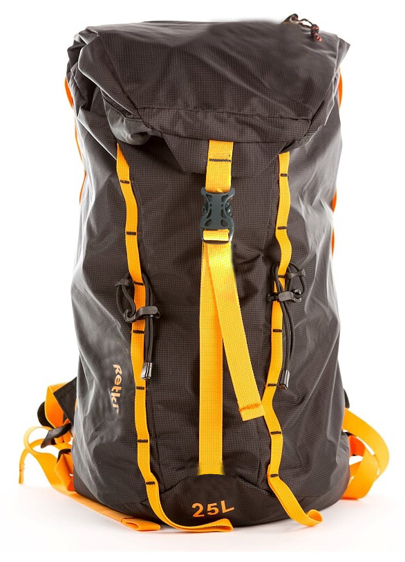 Ultralight Backpack Black/Orange