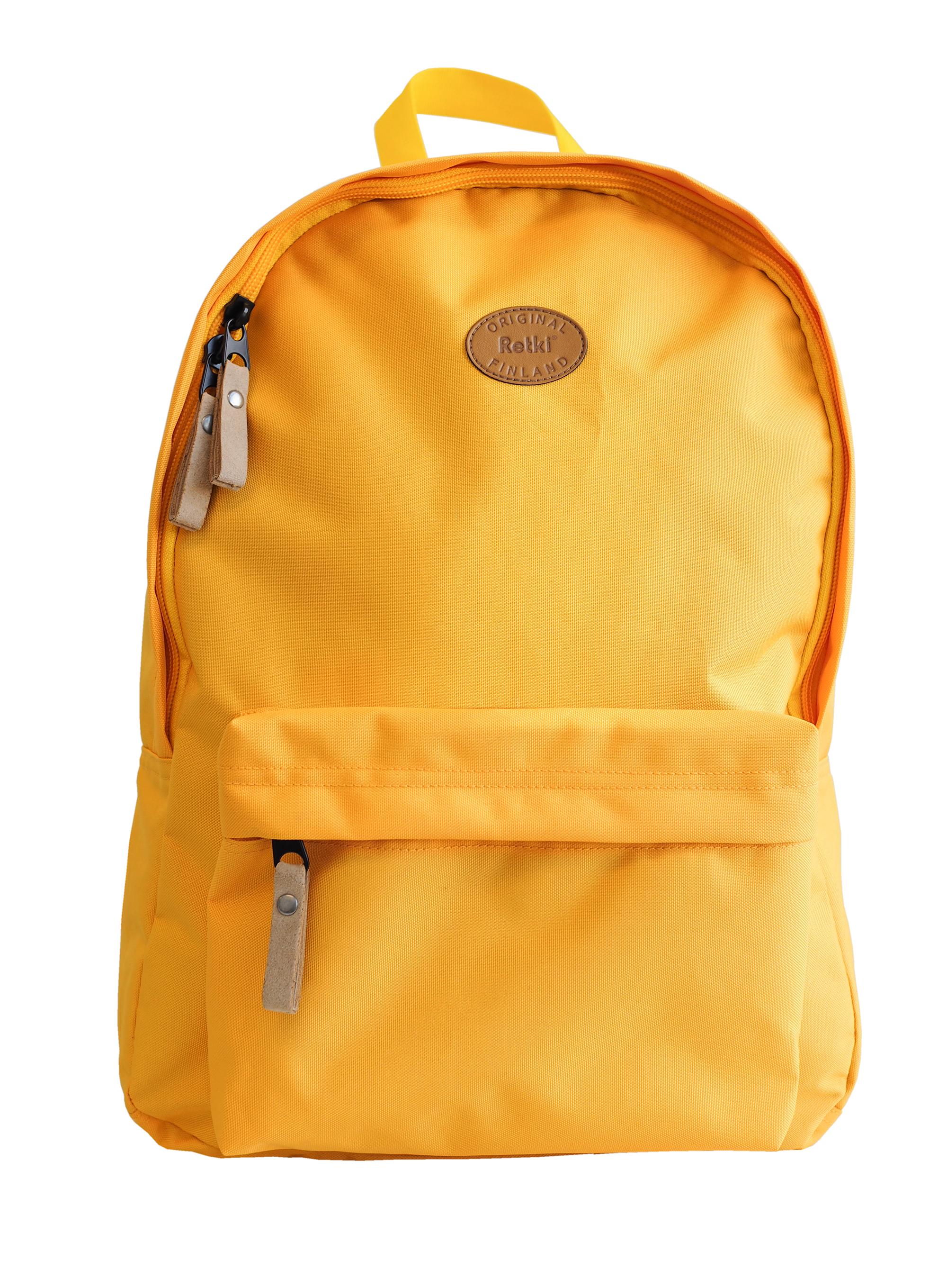 Reppu Retro keltainen Eko 16l